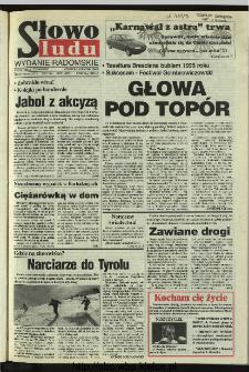 Słowo Ludu 1996, XLV, nr 3 (radomskie)