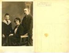 [Portret niezidentyfikowanej rodziny] (1)