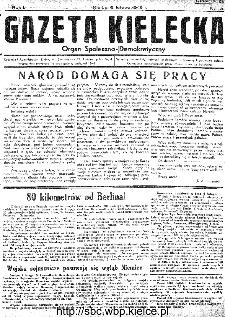 Gazeta Kielecka, 1945, R.1, nr 3