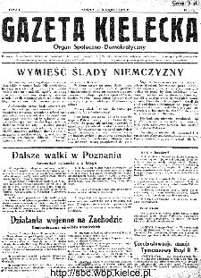 Gazeta Kielecka, 1945, R.1, nr 4