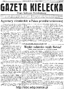 Gazeta Kielecka, 1945, R.1, nr 10