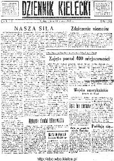 Dziennik Kielecki, 1945, R.1, nr 6(26)