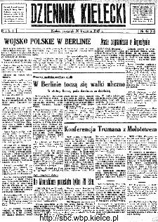 Dziennik Kielecki, 1945, R.1, nr 42(62)