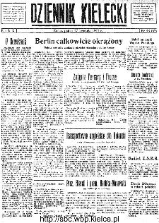 Dziennik Kielecki, 1945, R.1, nr 43(63)
