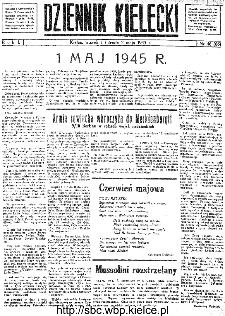 Dziennik Kielecki, 1945, R.1, nr 46(66)