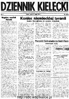 Dziennik Kielecki, 1945, R.1, nr 52(72)