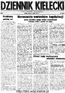 Dziennik Kielecki, 1945, R.1, nr 53(73)
