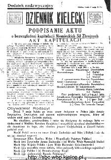 Dziennik Kielecki, 1945, R.1, Dodatek nadzwyczajny