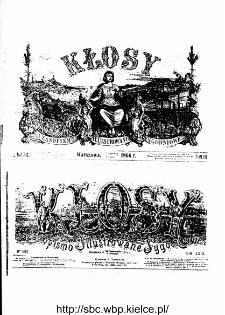 Ilustracja prasowa XIX wieku na przykładzie czasopisma Kłosy ze zbiorów Wojewódzkiej Biblioteki Publicznej w Kielcach