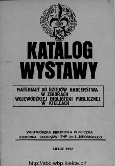 Materiały do dziejów harcerstwa polskiego w zbiorach Wojewódzkiej Biblioteki Publicznej w Kielcach