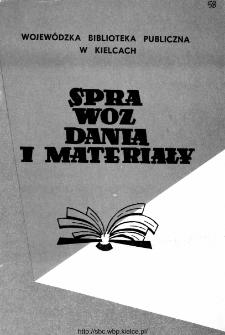 Sprawozdania i materiały za rok 1989, nr 2