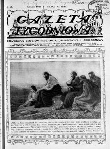 Gazeta Tygodniowa. Poświęcona sprawom religijnym, oświatowym i społecznym,1931, R.2, nr 30
