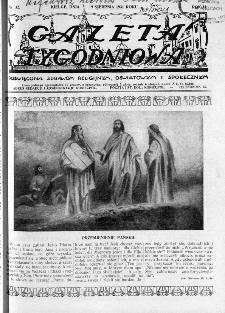 Gazeta Tygodniowa. Poświęcona sprawom religijnym, oświatowym i społecznym,1931, R.2, nr 32