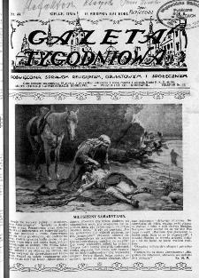 Gazeta Tygodniowa. Poświęcona sprawom religijnym, oświatowym i społecznym,1931, R.2, nr 33