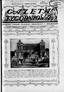 Gazeta Tygodniowa. Poświęcona sprawom religijnym, oświatowym i społecznym,1931, R.2, nr 35