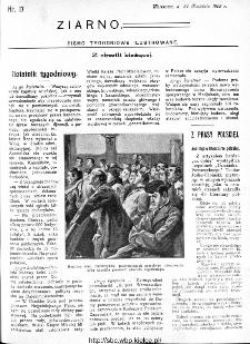 Ziarno : pismo tygodniowe ilustrowane 1908, nr 17