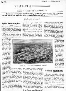 Ziarno : pismo tygodniowe ilustrowane 1908, nr 23