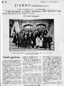 Ziarno : pismo tygodniowe ilustrowane 1908, nr 28