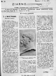 Ziarno : pismo tygodniowe ilustrowane 1908, nr 29