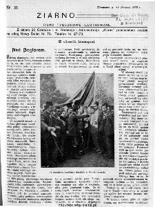 Ziarno : pismo tygodniowe ilustrowane 1908, nr 33