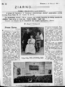 Ziarno : pismo tygodniowe ilustrowane 1908, nr 46