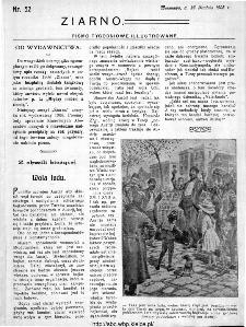 Ziarno : pismo tygodniowe ilustrowane 1908, nr 52