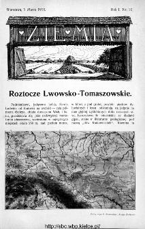 Ziemia : tygodnik krajoznawczy ilustrowany 1910, nr 10