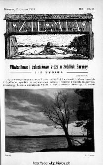 Ziemia : tygodnik krajoznawczy ilustrowany 1910, nr 26