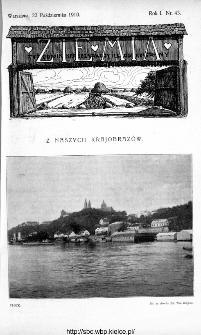 Ziemia : tygodnik krajoznawczy ilustrowany 1910, nr 43