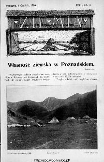 Ziemia : tygodnik krajoznawczy ilustrowany 1910, nr 49