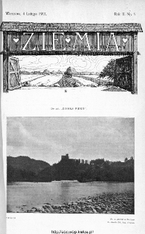 Ziemia : tygodnik krajoznawczy ilustrowany 1911, nr 5