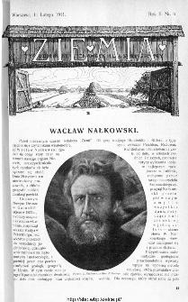 Ziemia : tygodnik krajoznawczy ilustrowany 1911, nr 6