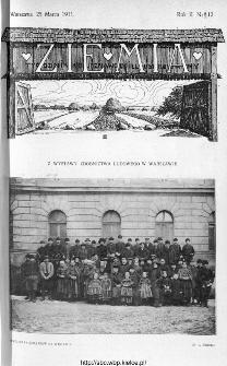Ziemia : tygodnik krajoznawczy ilustrowany 1911, nr 12