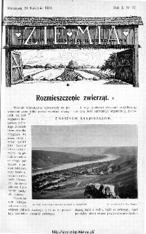 Ziemia : tygodnik krajoznawczy ilustrowany 1911, nr 17