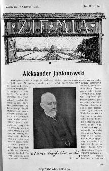 Ziemia : tygodnik krajoznawczy ilustrowany 1911, nr 24
