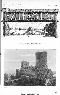 Ziemia : tygodnik krajoznawczy ilustrowany 1911, nr 31