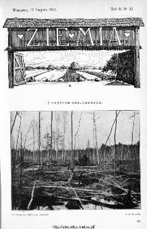 Ziemia : tygodnik krajoznawczy ilustrowany 1911, nr 32