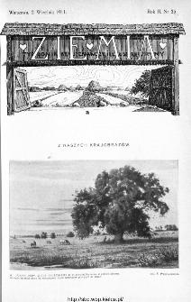 Ziemia : tygodnik krajoznawczy ilustrowany 1911, nr 35