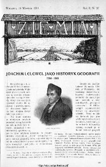 Ziemia : tygodnik krajoznawczy ilustrowany 1911, nr 37