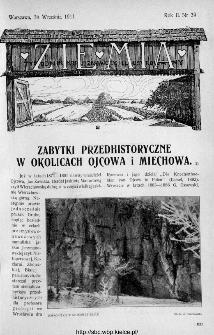 Ziemia : tygodnik krajoznawczy ilustrowany 1911, nr 39