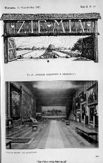 Ziemia : tygodnik krajoznawczy ilustrowany 1911, nr 41