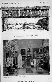 Ziemia : tygodnik krajoznawczy ilustrowany 1911, nr 42