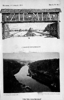 Ziemia : tygodnik krajoznawczy ilustrowany 1911, nr 46