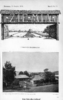 Ziemia : tygodnik krajoznawczy ilustrowany 1911, nr 52