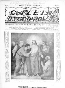 Gazeta Tygodniowa. Poświęcona sprawom religijnym, oświatowym i społecznym,1930, R.1, nr 7