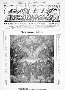 Gazeta Tygodniowa. Poświęcona sprawom religijnym, oświatowym i społecznym,1930, R.1, nr 14
