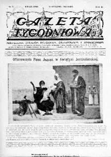 Gazeta Tygodniowa. Poświęcona sprawom religijnym, oświatowym i społecznym,1932, R.3, nr 5