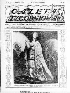 Gazeta Tygodniowa. Poświęcona sprawom religijnym, oświatowym i społecznym,1932, R.3, nr 7