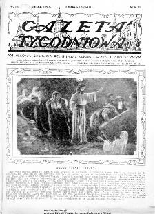 Gazeta Tygodniowa. Poświęcona sprawom religijnym, oświatowym i społecznym,1932, R.3, nr 10