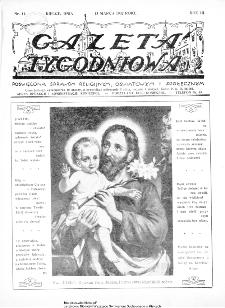 Gazeta Tygodniowa. Poświęcona sprawom religijnym, oświatowym i społecznym,1932, R.3, nr 11